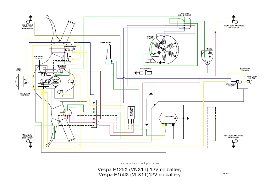 vespa p125x wiring diagram vespa image wiring diagram wiring diagram vespa px150e wiring diagram on vespa p125x wiring diagram