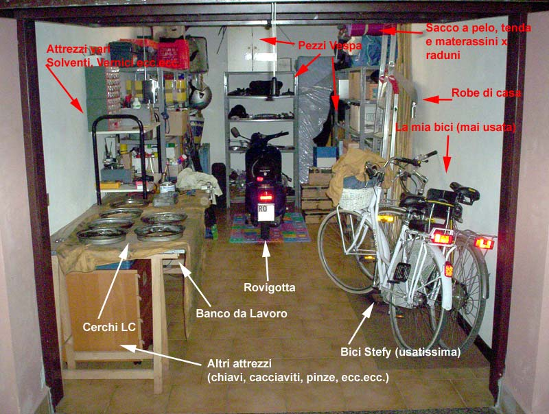 Il Vostro Vespa Garage Le Chiacchiere Di Vespaonline Forum