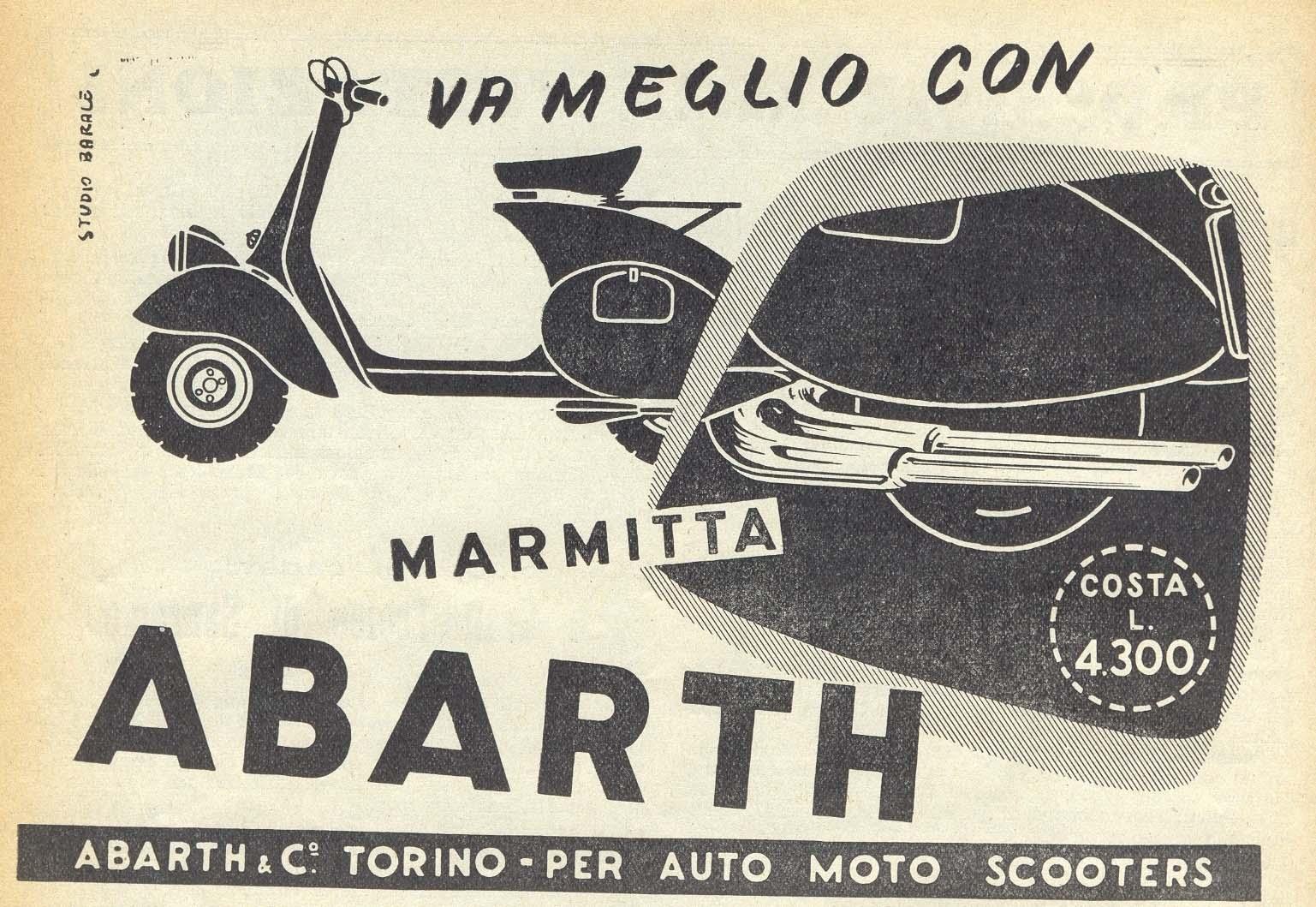 marmitta abarth - restauri: nonne - forum vespa online