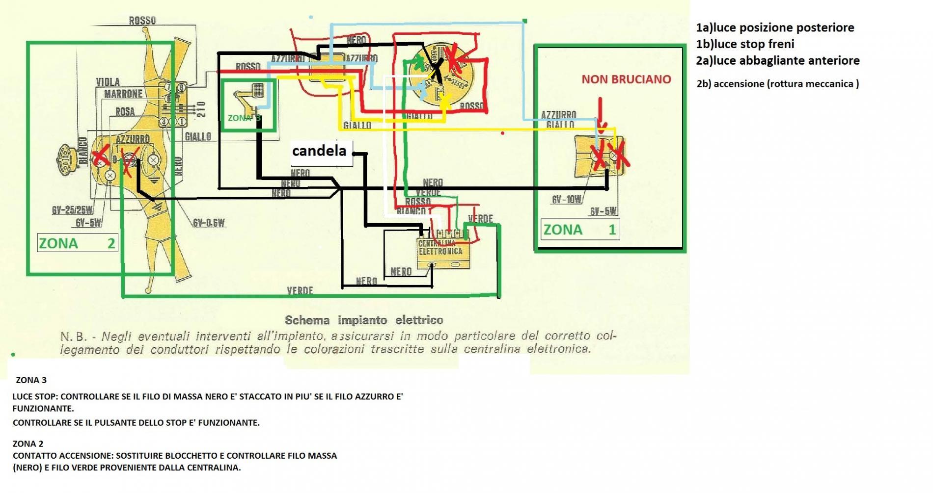 Schema Elettrico Et3 : Problema stop statore tecnica generale telai piccoli et pk