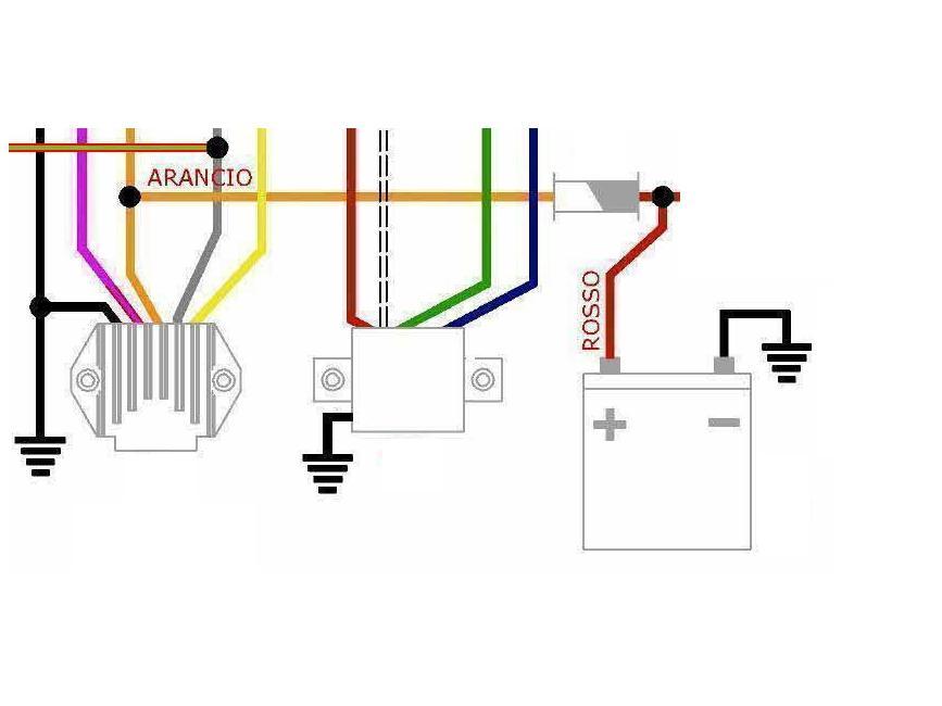 Schema Elettrico Batteria Notebook : Sputtano modifica impianto elettrico elaborazioni telai